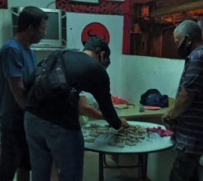 Polisi Amankan Ratusan Paket Ganja di Kampung Bule Jodoh