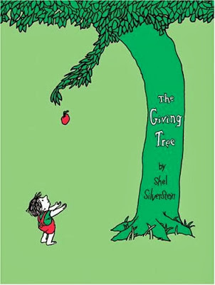 The best children's classic books - The Giving Tree  by Shel Silverstein