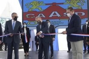 Presidente Danilo Medina entrega planta de aguas residuales