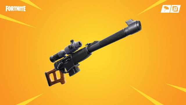 "Updating the content of ""Fortnite"" 10.0 brings automatic sniper rifle to Battle Royale. The debugging feature also added Tilted Town. ""Fortnite"" is now available on PS4, Xbox One, Switch, PC and mobile. Epic Games"