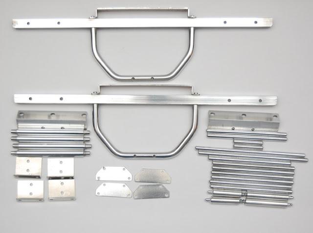 Tamiya Clod Buster ESP Clodzilla II polished parts
