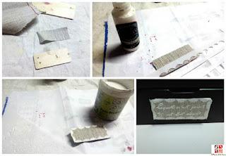 como usar pasta de relieve