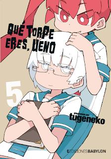 Qué torpe eres, Ueno - 5