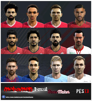 PES 2013 Facepack V12.4 by Mohamed Ismail