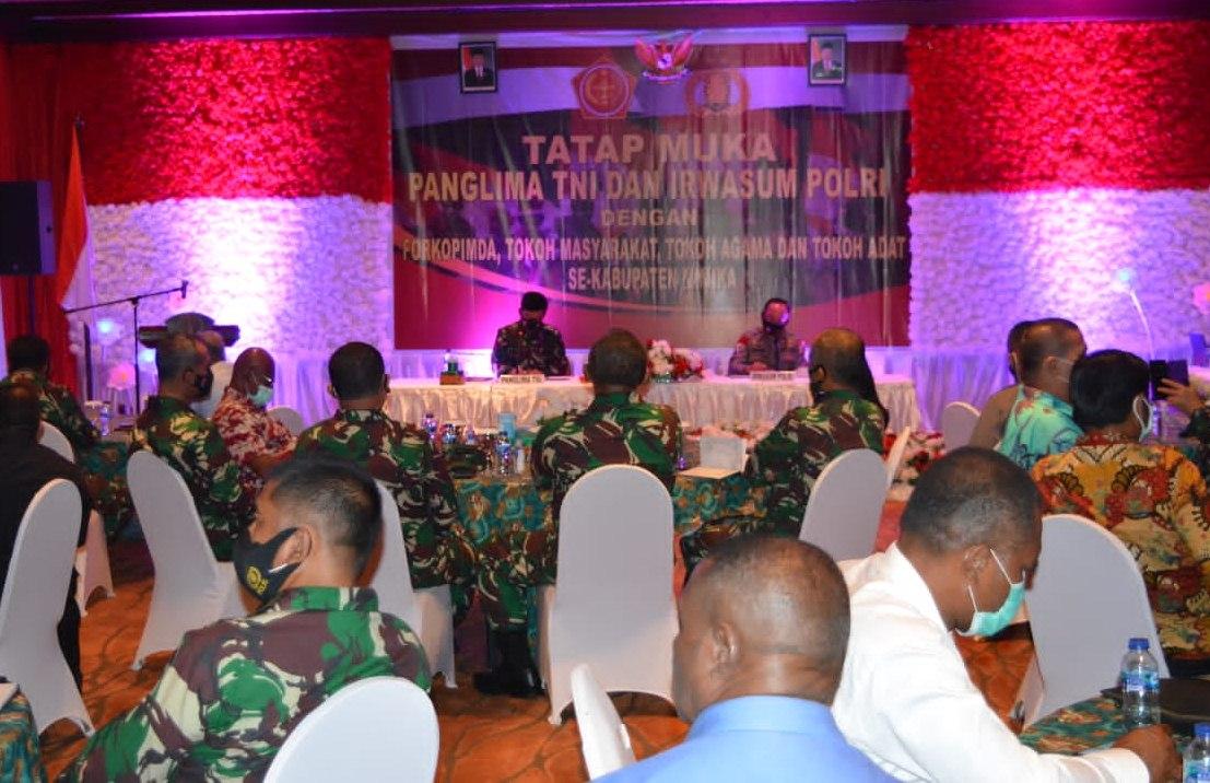 Panglima TNI Tatap Muka Dengan Tokoh-Tokoh Penting di Papua