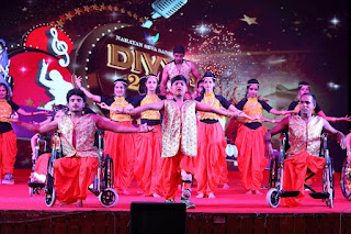 Divyang Models took to the stage to perform at Talent Show
