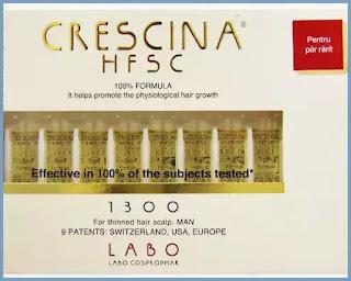 Fiole Crescina 1300 barbati pareri forum review