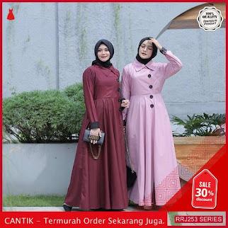 Jual RRJ253D231 Dress Hallian Maxy Wanita Mo Terbaru Trendy BMGShop
