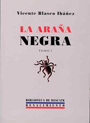Portada libro completo La arana negra Descargar pdf gratis