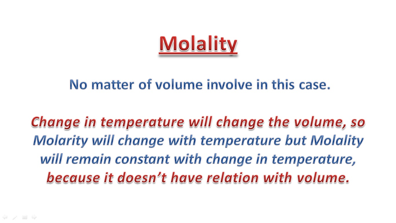 My Smart Class How To Calculate Molality