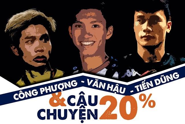Ngôi sao bóng đá Việt Nam xuất ngoại và thử thách 20% phải vượt qua