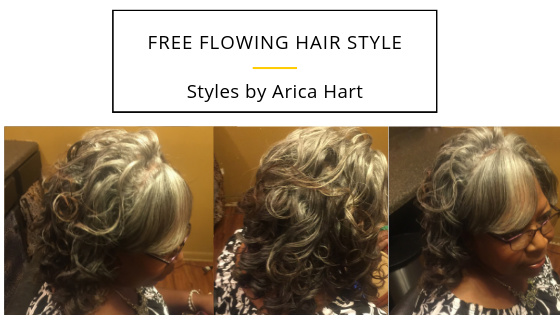 Free Flowing Hair Style