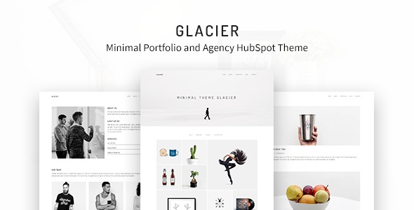 Best Minimal Portfolio and Agency HubSpot Theme