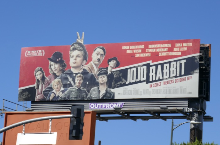 Jojo Rabbit movie billboard