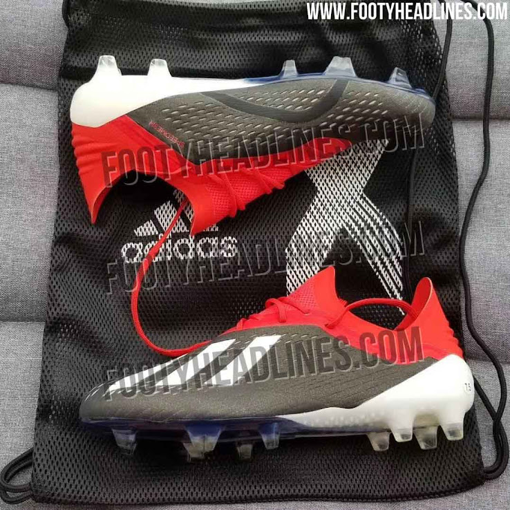 Black White Red Adidas X 18 'Initiator' Boots Leaked