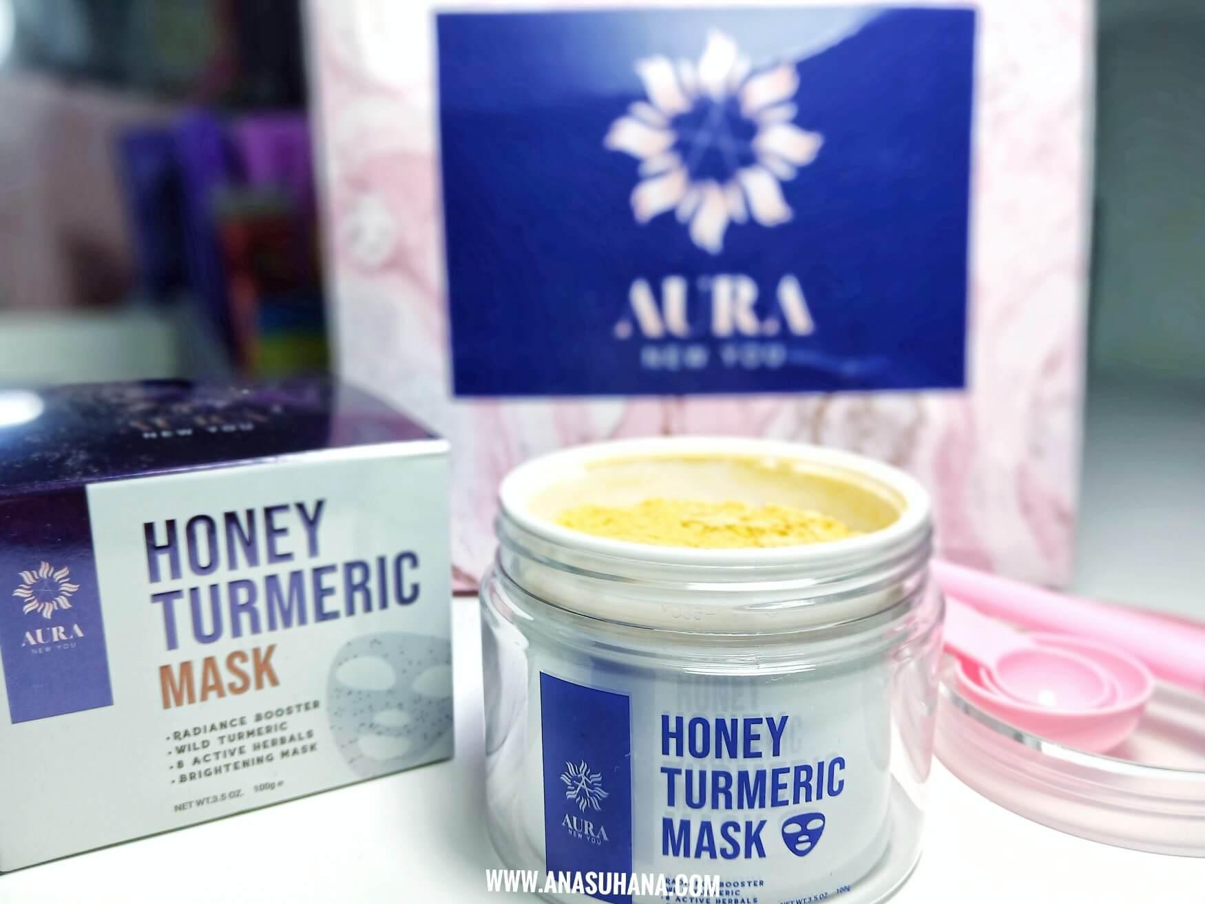 Serlahkan Aura Wajah dengan Masker Kunyit Dari Aura New You