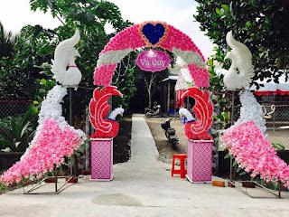 mẫu cổng hoa cưới đẹp nhất 15