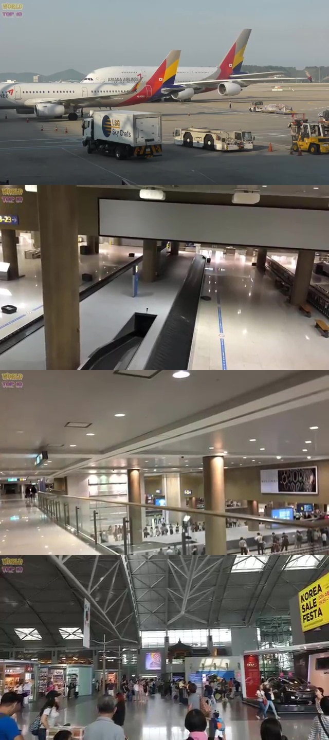 top airports in the world, top ten best airport, best airport in the world, top ten best airport in the world, Incheon International Airport