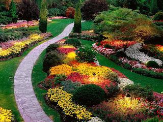 wallpaper de jardines