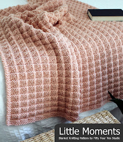 Fifty Four Ten Studio Little Moments New Blanket Knitting Pattern
