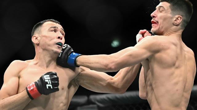 UFC PRAGUE : Damir Ismagulov Defeats Joel Alvarez