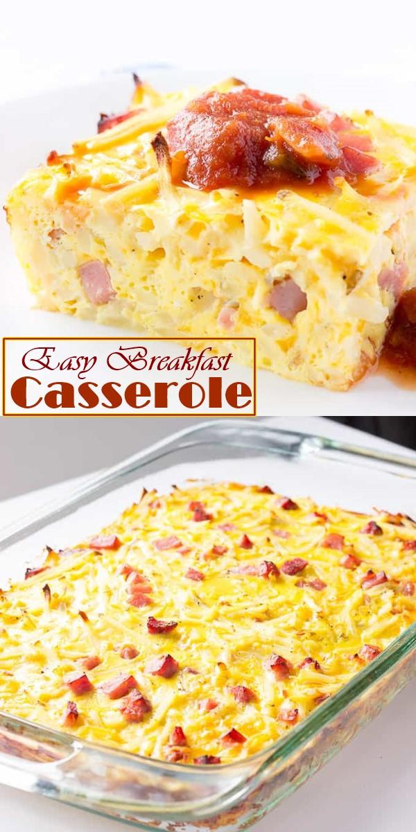 Easy Breakfast Casserole Recipe #Breakfastideas
