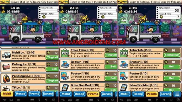Update Terbaru Tahu Bulat Mod Apk