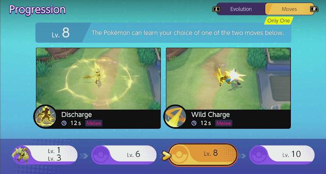 Kỹ năng Discharge và Wild Charge