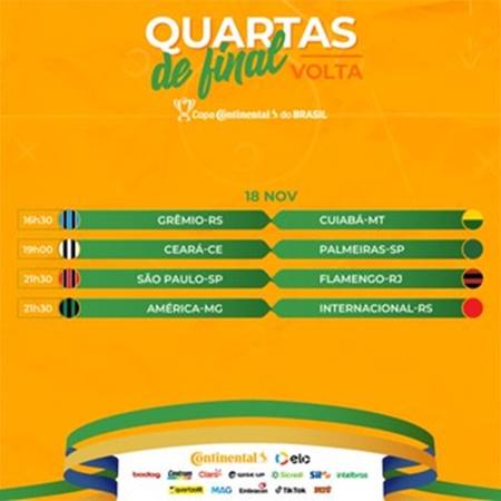 www.seuguara.com.br/quartas de final/Copa do Brasil 2020/datas e horários/