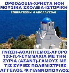 ΕΠΙΚΡΑΤΕΕΙΝ Η ΑΠΟΛΛΥΣΘΑΙ - ΑΓΓΕΛΟΣ ΓΙΑΝΝΟΠΟΥΛΟΣ