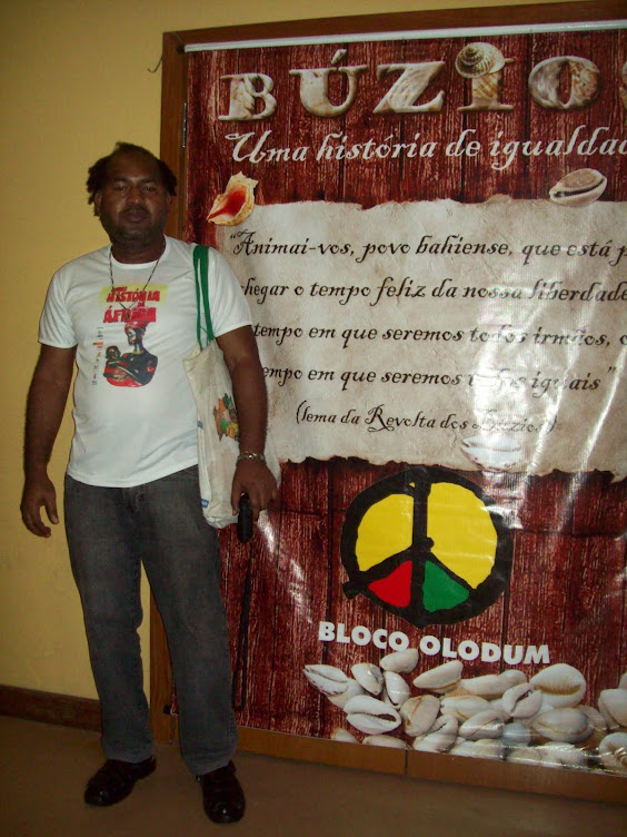 Evento do Bloco Afro Olodum