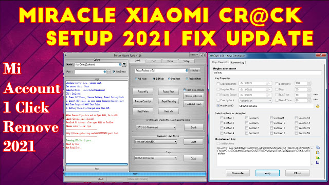 Miracle Xiaomi Tool Cr@ck v1.56 Without Box 100% Working Free Download