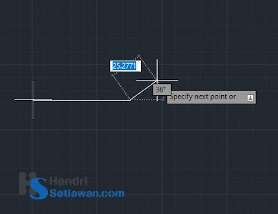Pengenalan Fungsi Perintah PLINE/POLYLINE Pada AutoCad | Command Function