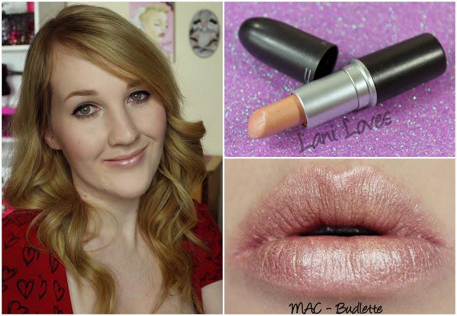 MAC Budlette Lipstick swatch