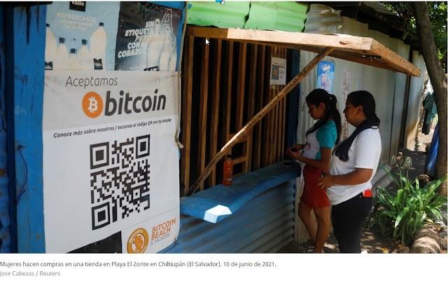 El Salvador compra sus primeros 400 bitcoines en vísperas de convertirse en el primer país en adoptar la criptodivisa como moneda de curso legal