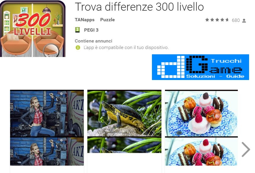 Soluzioni Trova differenze 300 livello di tutti i livelli | Walkthrough guide