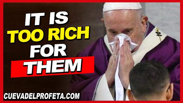 It's too rich for them - William Marrion Branham