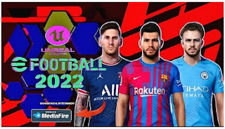 Download eFootball PES 2022 PPSSPP Fix Full Final Transfer And Kits Graphics PS5 & Gameplay Like PlayStation