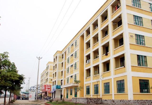 Khu nhà ở cho công nhân Đông Anh người thu nhập thấp Hà Nội