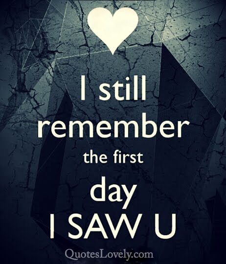 I still remember the first day
