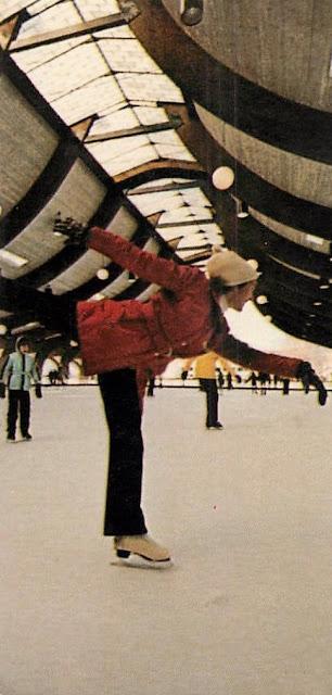 Nevele Grande - Skating Postcard