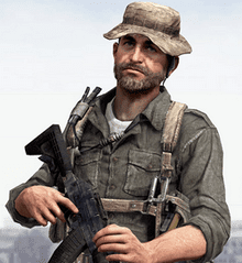 Character Call of Duty mobile John Price