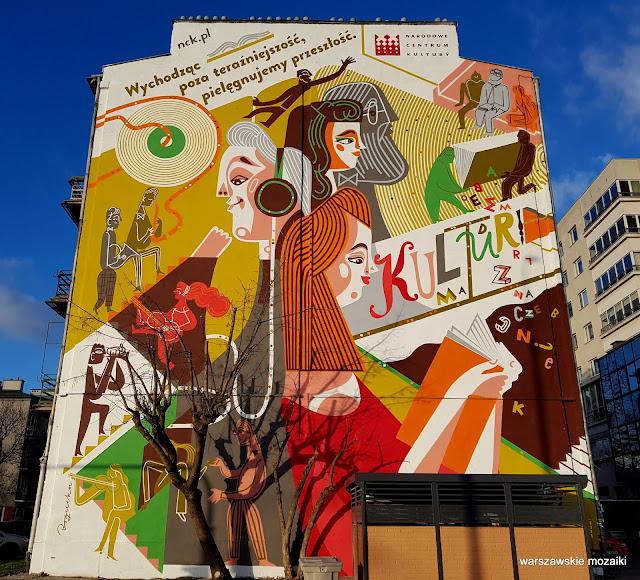 Warszawa Warsaw Wola kamienica streetart warszawskie murale murals nck Katarzyna Bogucka