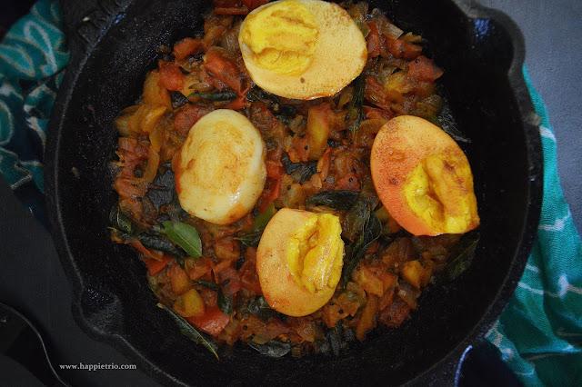 Simple Egg Masala Recipe | Easy Egg Roast Recipe