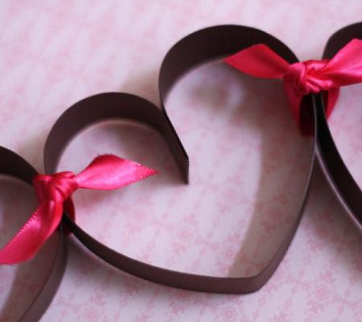 valentine's day decorations diy with paper craft idea