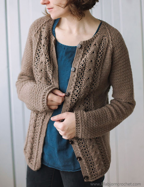 Copenhagen Cardigan crochet pattern