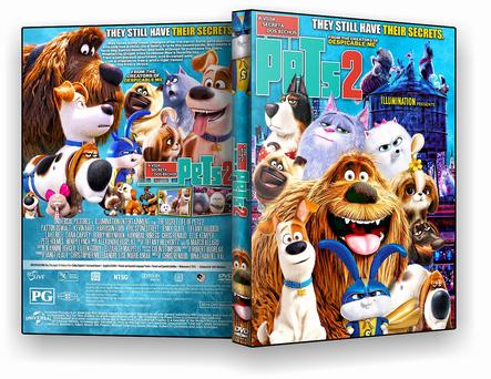 DVD - Pets – A Vida Secreta dos Bichos 2 - ISO