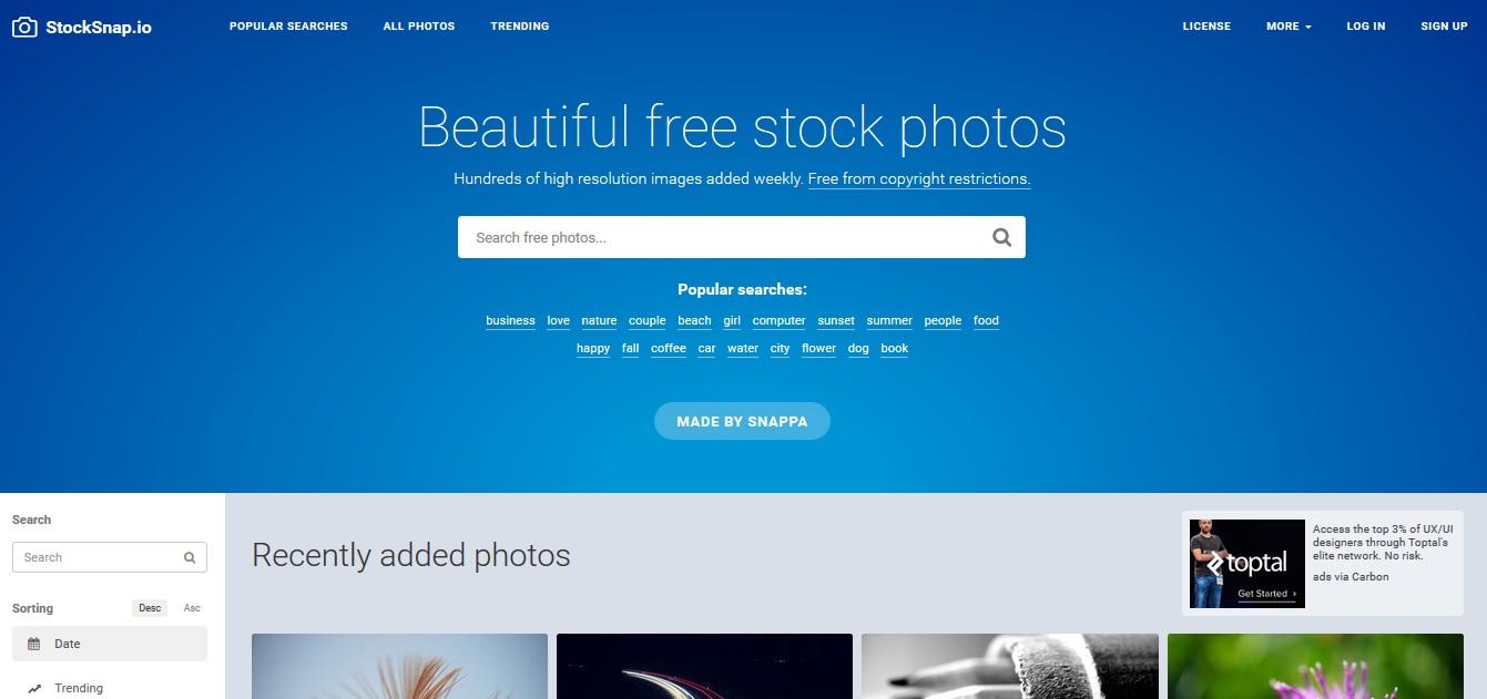 Kostenlose Stock Photos mit Creative Commons Zero Lizenz als freie Bildquellen für deinen Blog