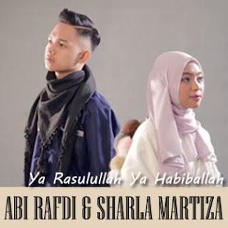 Lagu ini masih berupa single yang didistribusikan oleh label Star Hits Music Lirik Lagu Abi Rafdi & Sharla Martiza - Ya Rasulullah Ya Habiballah