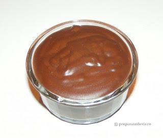 Budinca de ciocolata de casa retete culinare,